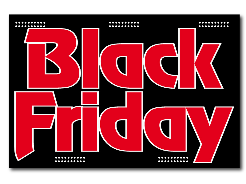 Black Friday Rock - Panneau