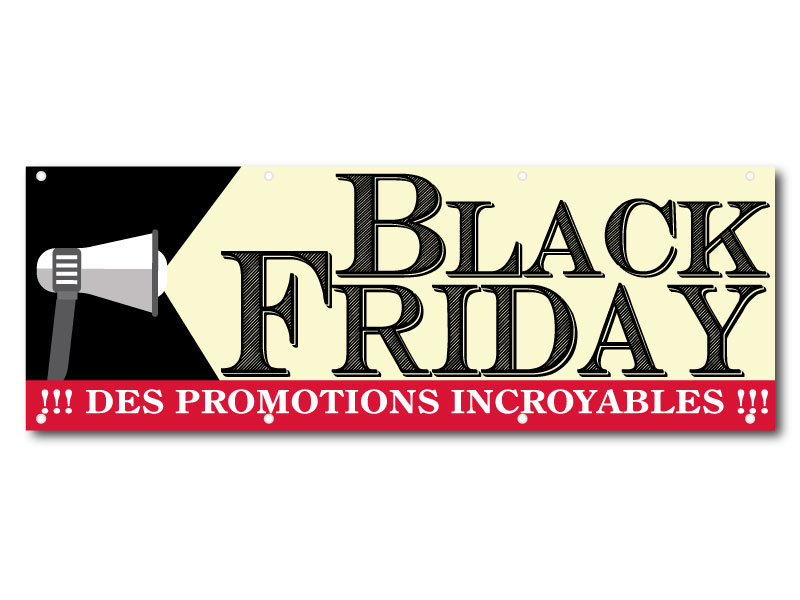 Black Friday Spot - Banderole