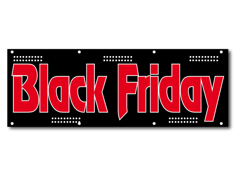 Black Friday Rock - Banderole