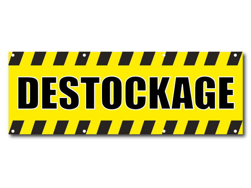 Destockage - Banderole